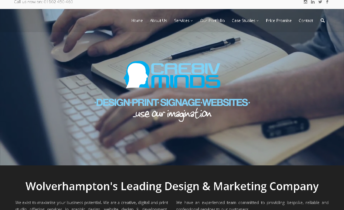 cre8ivminds wordpress site